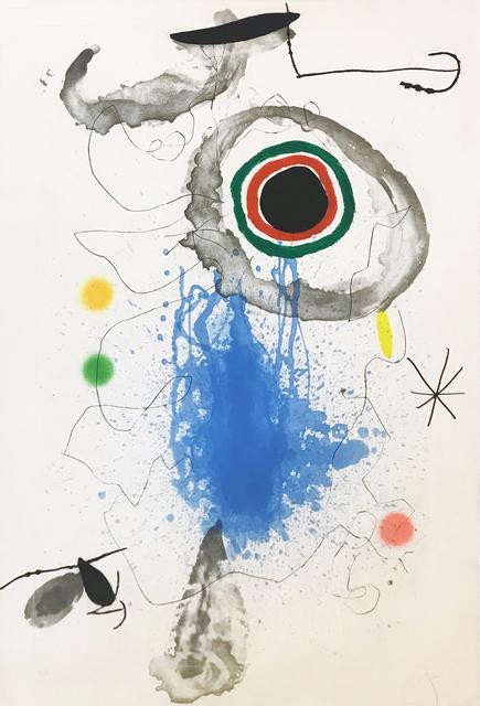 Joan Miró, 'L'ASTRE DU LABYRINTHE', 1967, Gallery Art