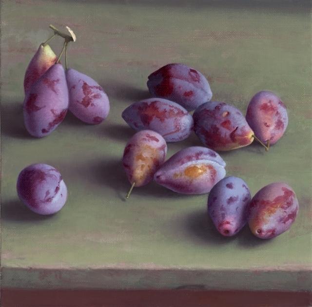 , 'Plums,' 2015, Clark Gallery