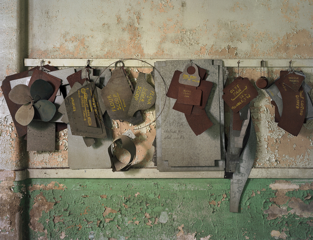 , 'Sheet Metal Forms, Willard State Hospital,  Willard, New York,' 2007, Benrubi Gallery