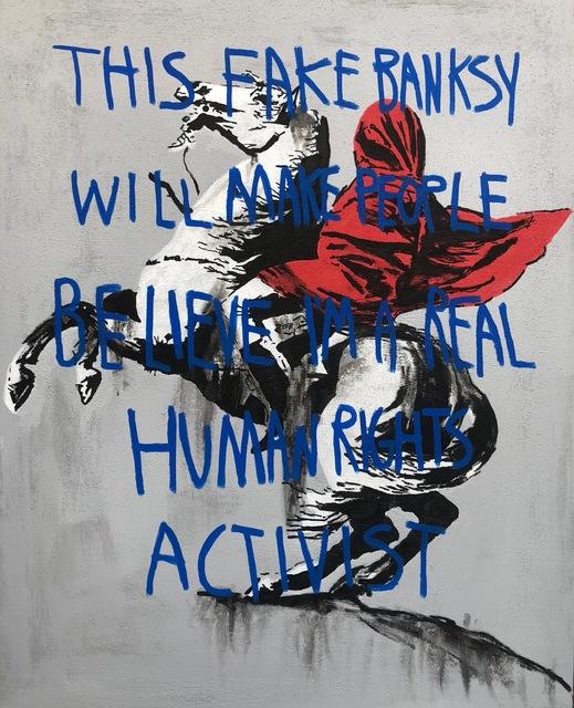, 'Fake Activism,' 2018, NextStreet Gallery