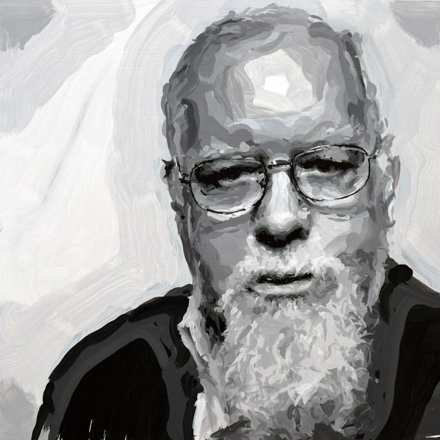 , 'Peter Blake Robot Painting, Painting time: 14:21:45 Stroke count: 5,624 12-14 November 2019,' 2019, Ben Brown Fine Arts