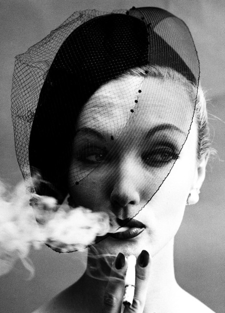 , 'Smoke + Veil, Paris (Vogue),' 1958, Grob Gallery