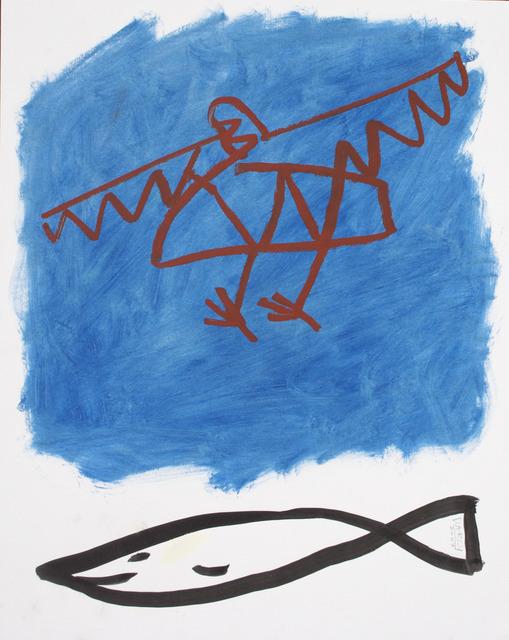 , 'World's Collide,' 2013-2014, NUNU FINE ART