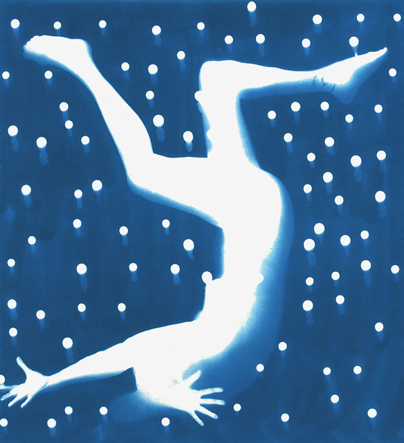 Nancy Wilson-Pajic, 'Falling Angels n° 19', 1996, Photography, Cyanotype photogram, Robert Koch Gallery