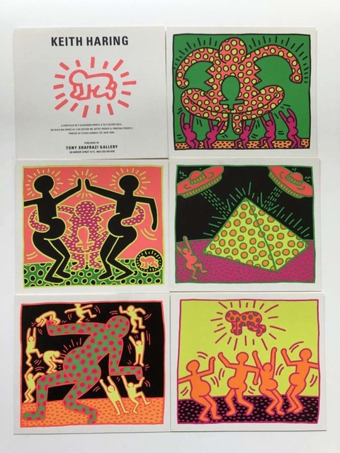 Keith Haring, 'The Fertility Suite, Tony Shafrazi gallery promotional cards', 1983, Gallery 52