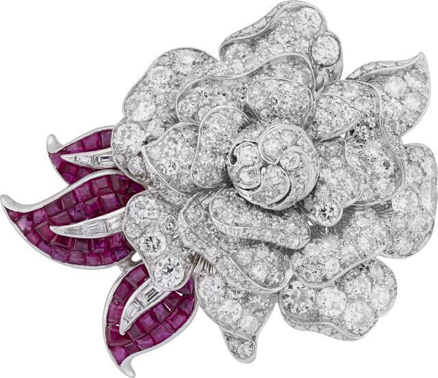 , 'Rose clip, Heritage Collection,' 1941, Van Cleef & Arpels