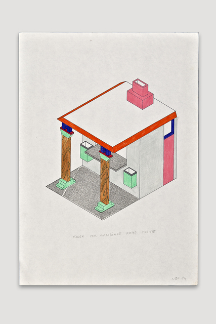 , 'Kiosk per Mangiare Robe Fritte  (Fried Food Stand),' 1984, The Modern Archive
