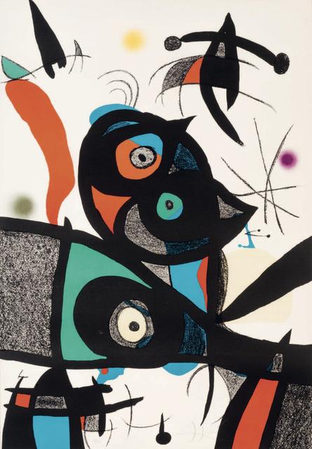 Joan Miró, 'Oda à Joan Miro', 1975, Gloria Gallery