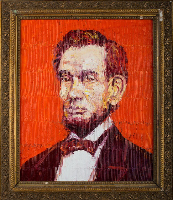 , 'Lincoln on Orange,' , Russell Collection