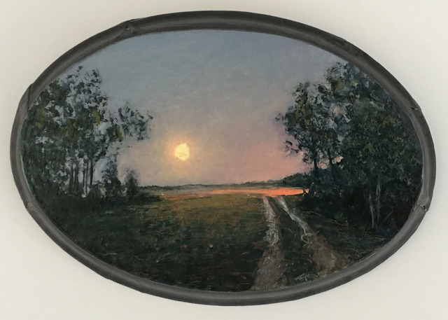 , 'Moonrise Long Island Country Road,' 2005, Grenning Gallery