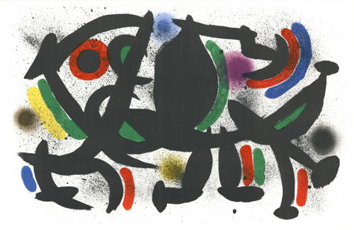 Joan Miró, 'untitled', 1972, Print, Color lithograph, Sylvan Cole Gallery