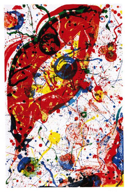 Sam Francis, 'SF331, Untitled', 1988, Upsilon Gallery