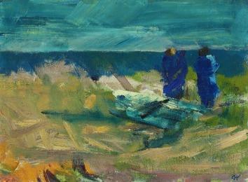 Udsigt over Havet, 1942 (View over the Sea), Bornholm
