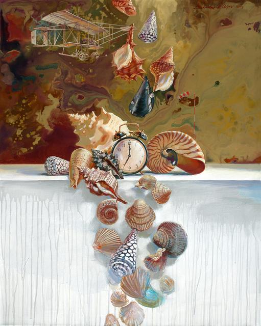 , 'Die Zeit ist relativ,' 2013, Galerie AM PARK