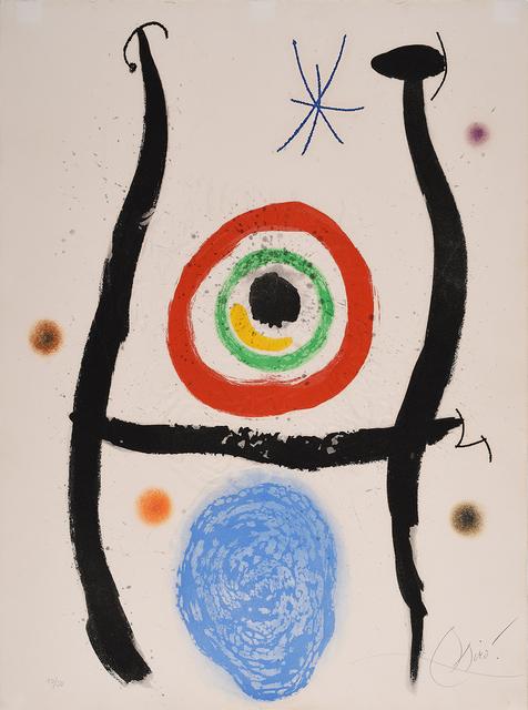 Joan Miró, 'Le Bleu de la cible', Halcyon Gallery