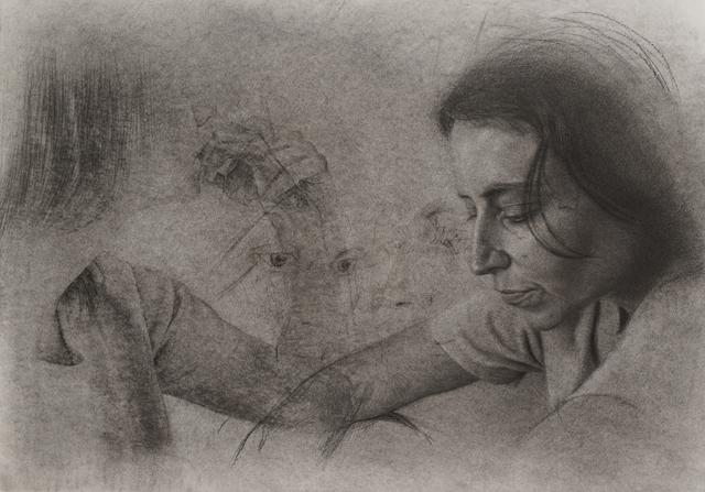 , 'stillness is actually ... Then non-dual,' 2017, Mind Set Art Center