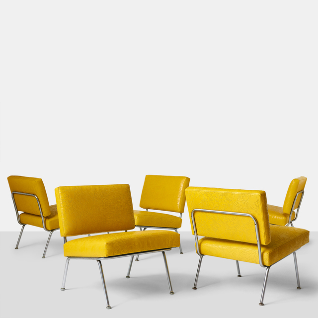 , 'Set of Five Florence Knoll Chairs Model #31 for Knoll International,' ca. 1954, Almond & Co.