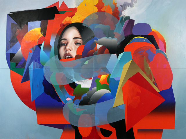 , 'The Machine,' 2017, Jonathan LeVine Projects