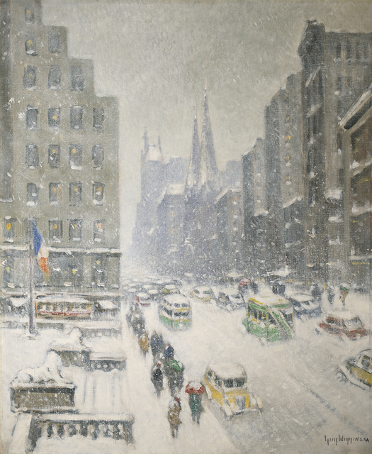 , 'At the Library, New York,' , Questroyal Fine Art
