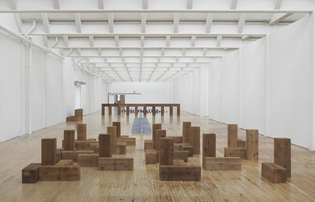 Carl Andre: Sculpture as Place, 1958-2010 | Dia Art Foundation | Artsy