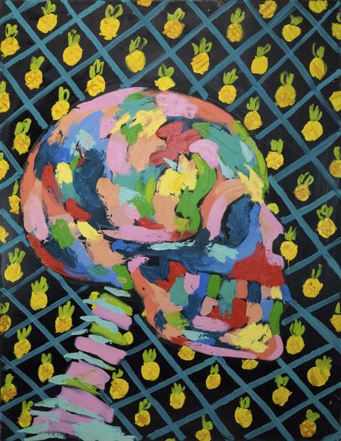 Bradley Theodore, 'Pineapples and Skull ', 2018, Maddox Gallery
