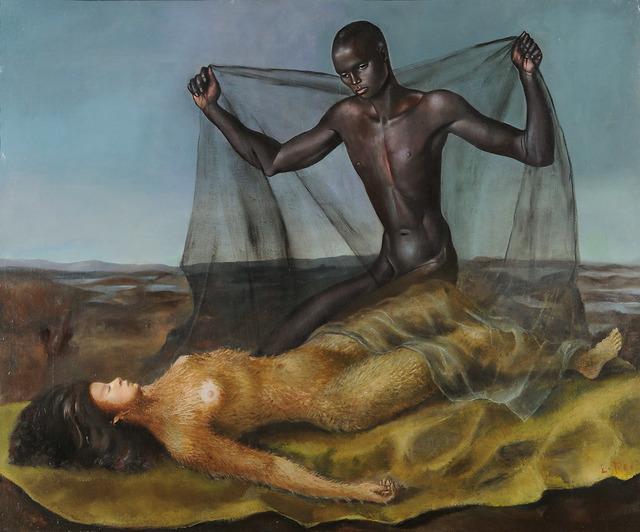 , 'Homme noir et femme singe,' 1939, Leila Heller Gallery