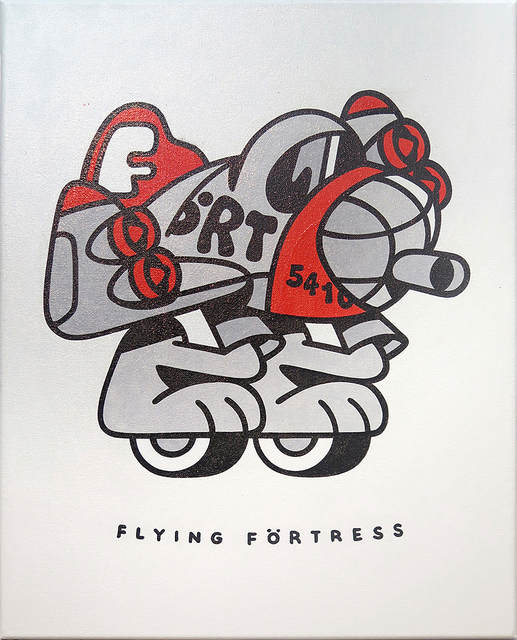 , 'Flying Förtress,' 2018, KOLLY GALLERY