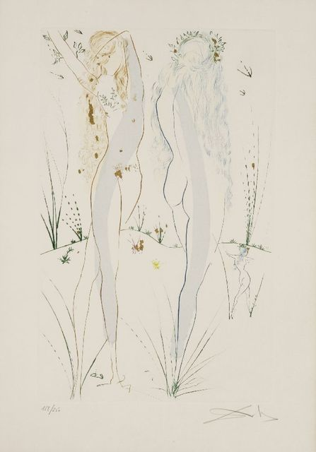 Salvador Dalí, 'Return, Return, Shulamite (Michler/Löpsinger 479)', 1971, Sworders