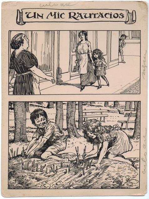 , 'Un mic rautacios,' 1922-1927, Nasui Collection & Gallery