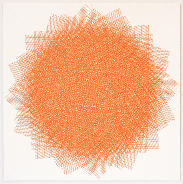 , '16 Layers Orange,' 2016, ODETTA