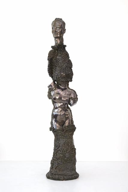 Francesca DiMattio, 'FDR Caryatid', 2019, Sculpture, Glaze on porcelain, Salon 94