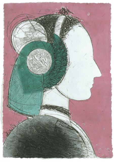 , 'Perfil I,' 2004, Mixografia