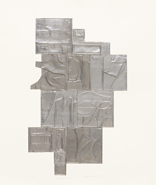 , 'Tropical Leaves, Lead,' 1972, Pace Prints