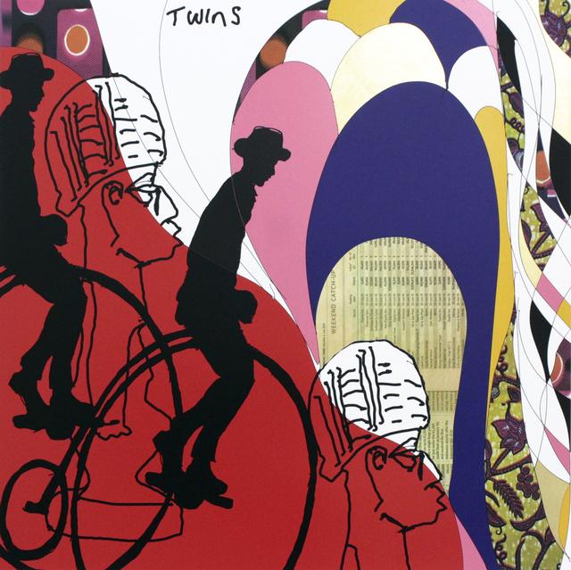 , 'Twins II,' 2015, TAFETA