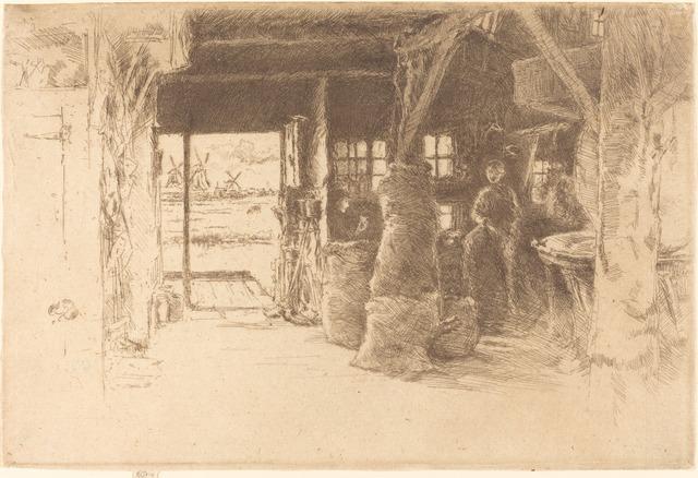 James Abbott McNeill Whistler, 'The Mill', 1889, National Gallery of Art, Washington, D.C.