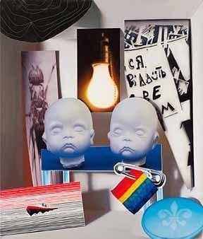 David Elliott, '2 Buddhas', 2013, Joyce Yahouda Gallery