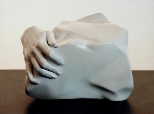 , 'Fatal Insomnia hand,' 2003, Fabbrica Eos