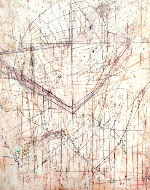 Mark Perlman, 'Fling', ca. 2019, Painting, Encaustic on panel, Stremmel Gallery