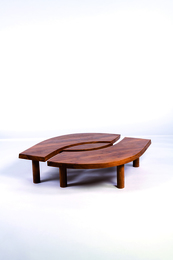 Low table T22 in elm