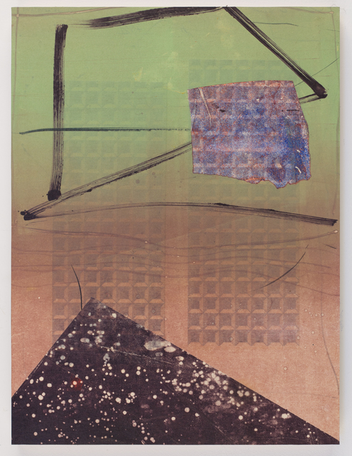 David Collins, 'Pyramid of Stars', 2020, Painting, Acrylic and oil on paper mounted on panel, Susan Eley Fine Art