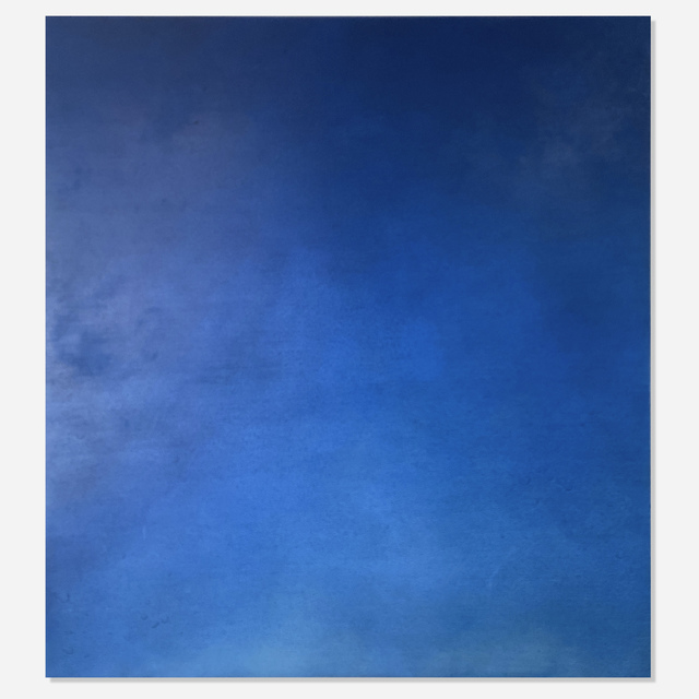Joe Goode, 'Fumigated Clouds (Cause & Effect Series, CEp 84)', 2000, Painting, Oil on canvas, Artsy x Rago/Wright