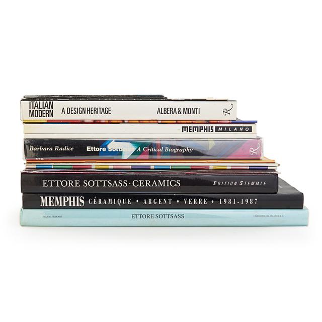 'Italian Modern, Memphis, And Sottass Books', Rago/Wright