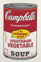 Vegetarian Vegetable, from Campbell's Soup II