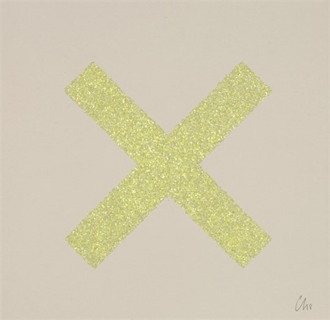 Chris Levine, 'Marks the Spot (#8)', 2018, Print, Screenprints in colour with glitter overlay on somerset satin on radiant white 410gsm paper, Lougher Contemporary Gallery Auction