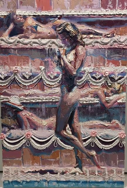 , 'Triple Layer Cake ,' 2016, Joseph Gross Gallery
