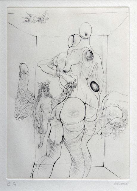 , 'A Sade #9,' 1961, Hieronymus