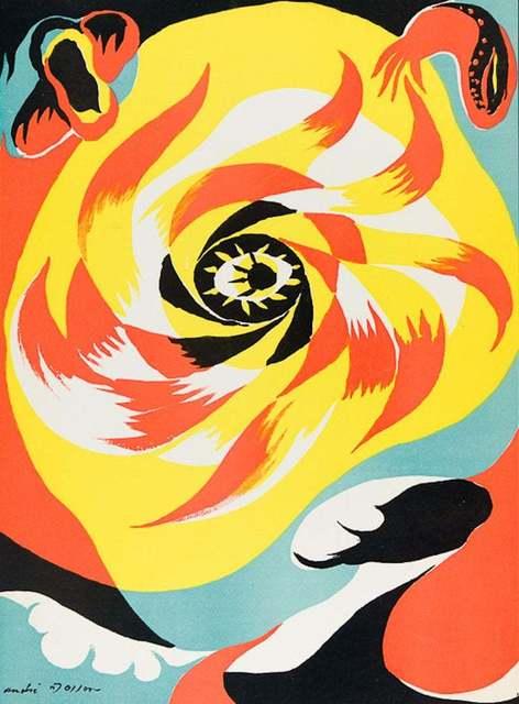 André Masson, 'The Sun (Le Soleil)', 1938, Artsnap