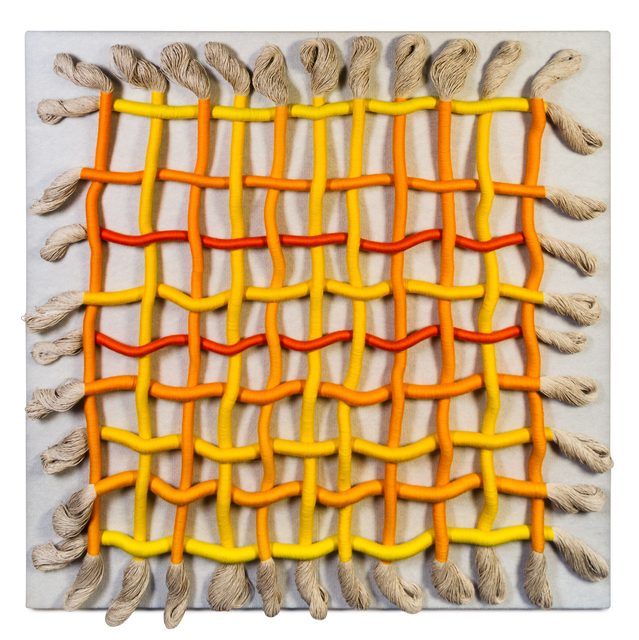 Sheila Hicks, 'Untitled', c. 1980s, Textile Arts, Cotton, linen, and rayon, Hindman