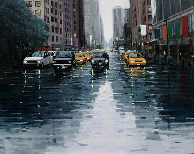 , 'Rain-NY ,' 2010, Alessandro Berni Gallery