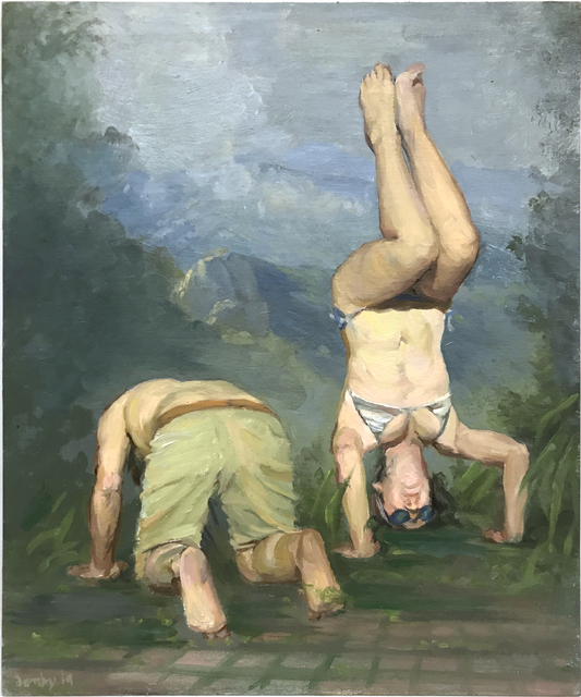 , 'Headstand,' 2019, Barney Savage Gallery